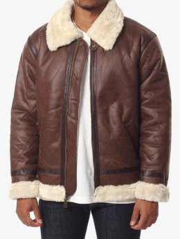 Alpha Industries Winterjacke B3 FL braun