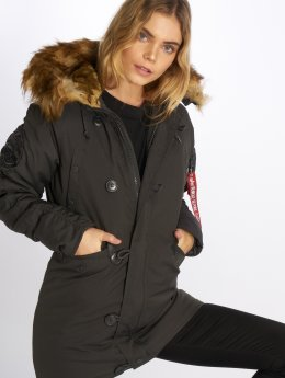 Alpha Industries Winterjacke Explorer grau