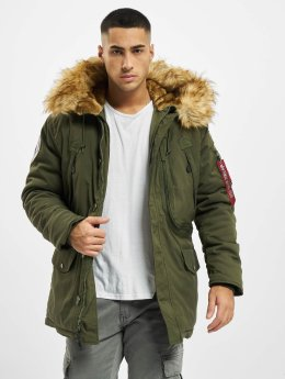 Alpha Industries Winterjacke Polar grün