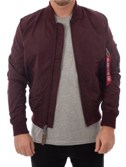 Alpha Industries Winterjacke  rot
