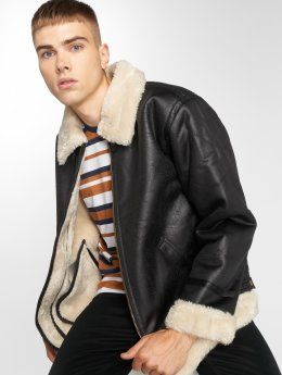 Alpha Industries Winterjacke B3 Flight schwarz