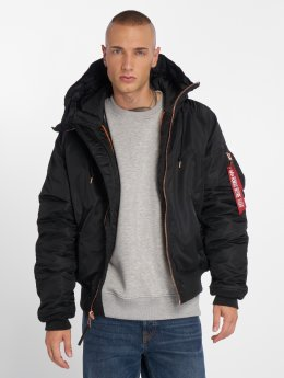 Alpha Industries Winterjacke N2-B VF PM schwarz