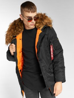 Alpha Industries Winterjacke N3B VF 59 schwarz