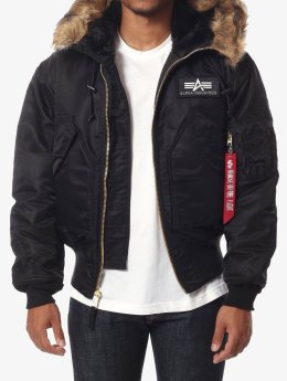 Alpha Industries Winterjacke 45 schwarz