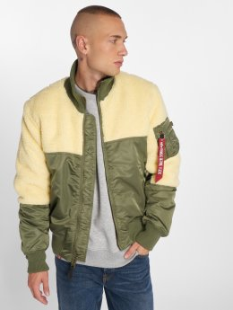 Alpha Industries winterjas Teddy groen