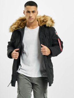Alpha Industries winterjas Polar zwart