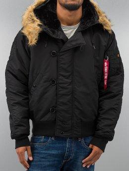 Alpha Industries winterjas N2B   zwart