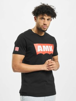 AMK t-shirt Original Waves zwart