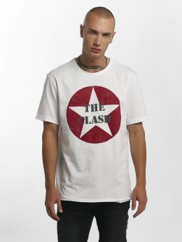 Amplified Camiseta The Clash Star Logo blanco
