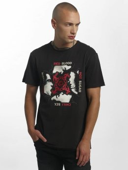 Amplified Camiseta Red Hot Chilli Peppers Blood, Sugar, Magic gris
