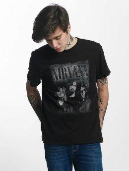 Amplified Nirvana Photo T-Shirt Black