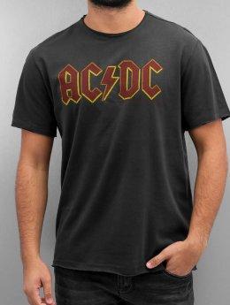 Amplified T-Shirt AC DC Logo grau