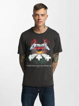 Amplified Männer T-Shirt Metallica MOP in grau