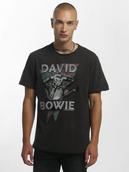 Amplified Männer T-Shirt David Bowie Look Into My Eyes in grau