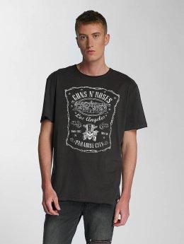 Amplified t-shirt Guns & Roses LA Paradise City grijs