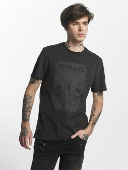 Amplified T-Shirt Metallica The Black Album gris