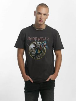 Amplified T-Shirt Iron Maiden Trooper gris