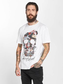 Amplified T-Shirt Plecktrum Skull weiß