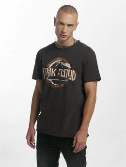 Amplified T-shirts Pink Floyd On The Run grå