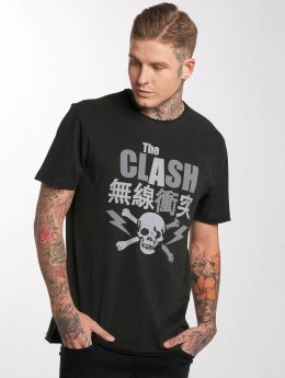 Amplified T-Shirty The Clash Bolt szary