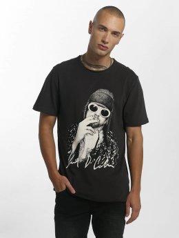 Amplified T-Shirty Kurt Cobain Photograph szary