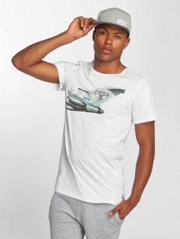 Amplified T-skjorter Beastie Boys Licence To Ill hvit