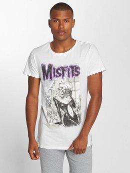 Amplified T-skjorter Misfits Deadly Cocktails hvit