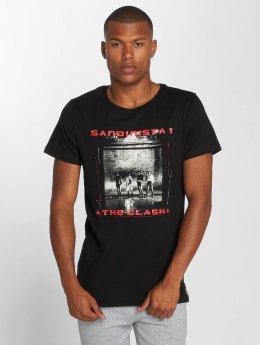 Amplified T-skjorter The Clash Sandanista svart