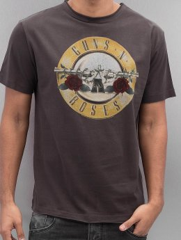 Amplified Tričká Guns & Roses Drum šedá