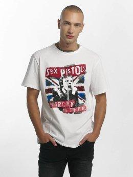 Amplified Tričká Sex Pistols Anarchie biela