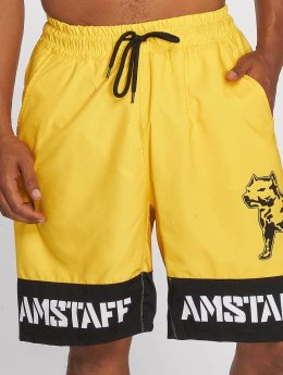 Amstaff Badeshorts Tison yellow