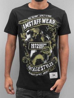 Amstaff Camiseta Isanto negro