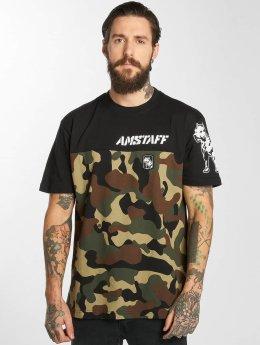Amstaff Camiseta Cenzo negro