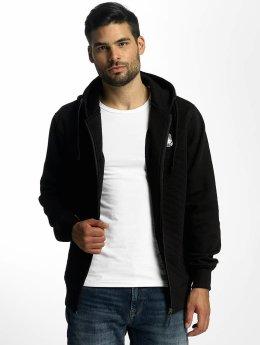 Amstaff Hoodies con zip Latos nero