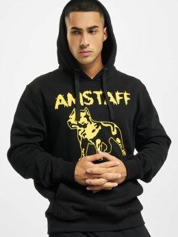 Amstaff Hoodies Logo sort