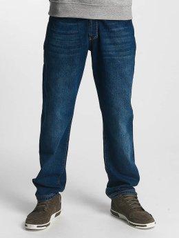 Amstaff Jean large coupe droite Gecco bleu
