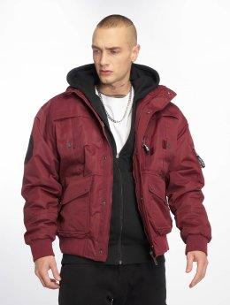 Amstaff Manteau hiver Conex rouge
