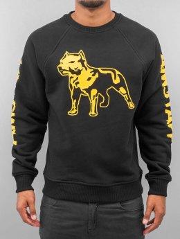 Amstaff Pullover Logo schwarz