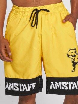 Amstaff Short de bain Tison jaune