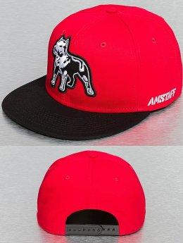 Amstaff Snapback Cap Timus rosso