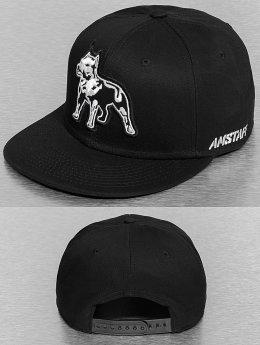 Amstaff Snapback Caps Timus musta