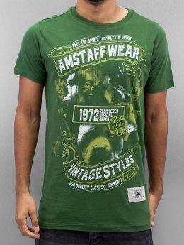 Amstaff T-paidat Isanto vihreä