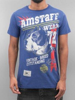 Amstaff T-Shirt Lomex blau