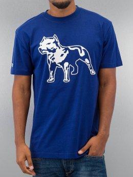 Amstaff t-shirt Logo blauw