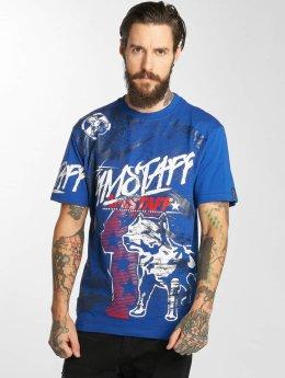 Amstaff T-Shirt Naku bleu