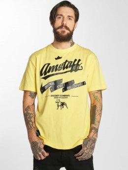 Amstaff t-shirt Yarrow geel