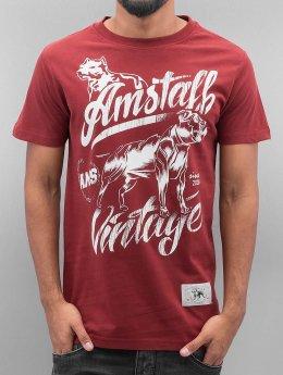 Amstaff T-Shirt Farkas rot