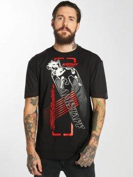 Amstaff t-shirt Yeller zwart
