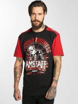 Amstaff T-Shirty Legas czarny
