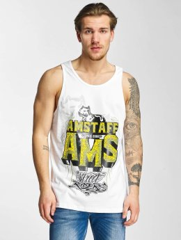Amstaff Tank Tops Harson bialy